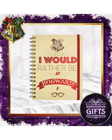 Тефтер А5 I Would Rather Be at Hogwarts, Хари Потър