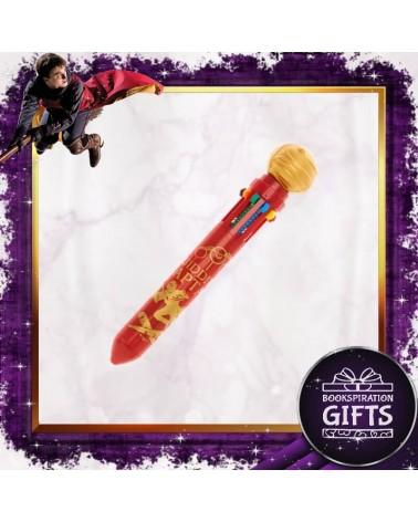 Химикалка 10 цвята Златен снич, Хари Потър
