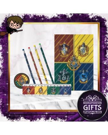 Ученически комплект с тетрадка А5, Хари Потър