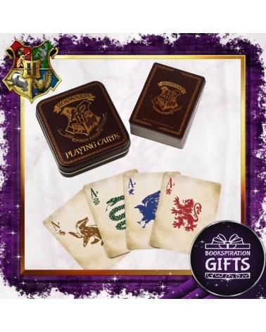 Карти за игра в метална кутия Хари Потър