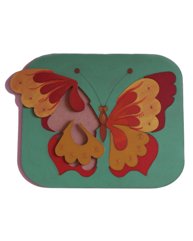 Wood Art Puzzle Butterfly