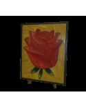 Wood Art Puzzle Rose