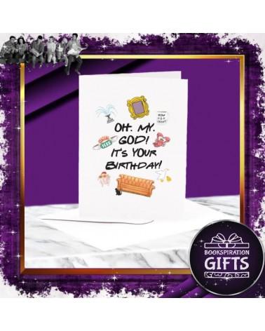 Поздравителна Картичка за рожден ден Oh. My. God, Приятели