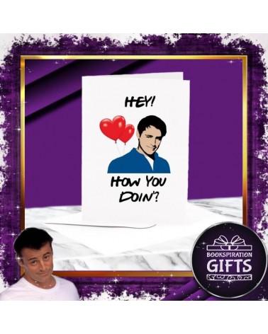 Поздравителна Картичка Как си? Приятели