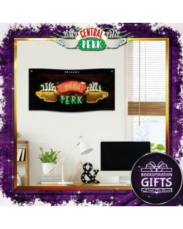 Текстилен банер за стена Central Perk, Приятели