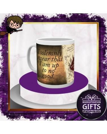 Керамична чаша Хитроумната карта,  Хари Потър