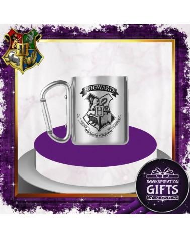 Метална чаша с карабинер Хогуортс,  Хари Потър