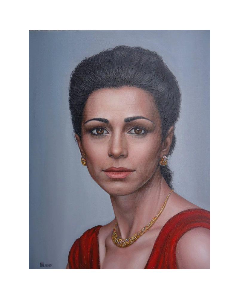 Portrait of Elena Perova / Grigor Velev