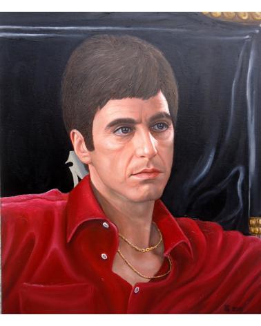 Portrait of Al Pacino / Grigor Velev