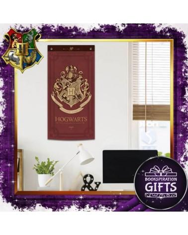 Текстилен банер за стена Хогуортс, Хари Потър