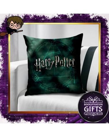 Калъфка за декоративна възглавничка Даровете на смъртта, Хари Потър