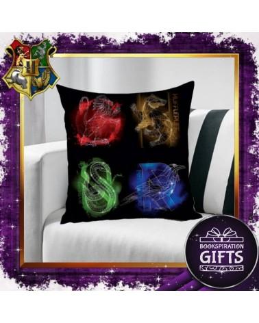 Калъфка за декоративна възглавничка домовете на Хогуортс, Хари Потър