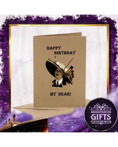 Крафт Картичка за рожден ден Титаник