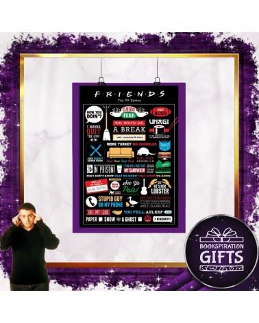 Макси плакат Infographic, Приятели