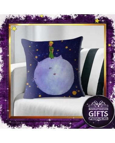 Калъфка за декоративна възглавничка Малкият принц и планетата