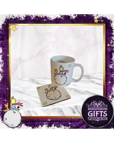 Комплект Малкият принц с бяла книжка