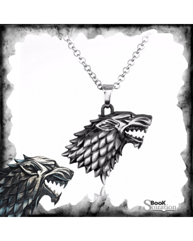 Necklace Stark wolf, Game of thrones