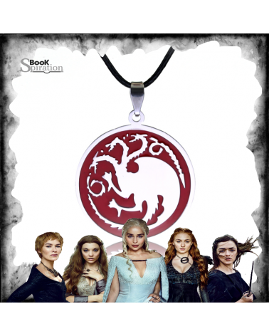 Red Targaryen Necklace, Game of thrones
