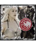 Red Targaryen Necklace, Game of thrones
