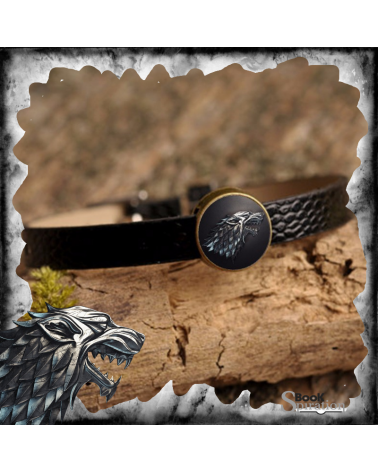 Leather Bracelet Stark, Game of thrones