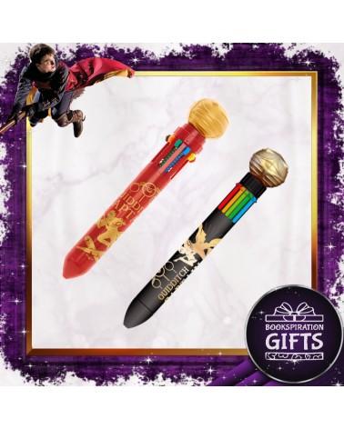 Химикалка многоцветна Златен снич, Хари Потър