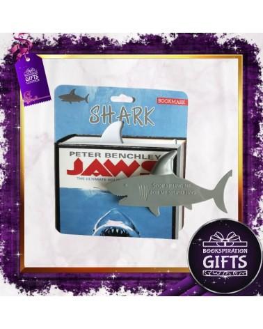 Пластмасов книгоразделител акула