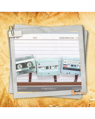 Magnetic Bookmark Retro Cassette