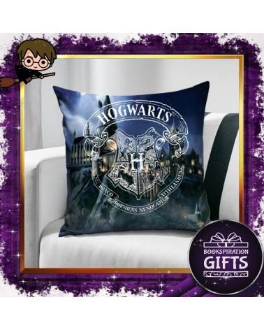 Калъфка за декоративна възглавничка замъка Хогуортс, Хари Потър