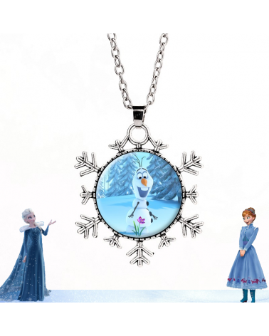 Olaf Necklace Frozen Disney
