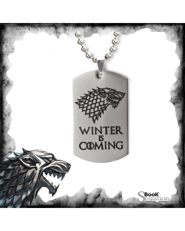 Necklace Winter is coming, Game of thrones