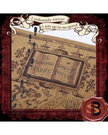 Плакат Карта на магьосническия свят на Хари Потър