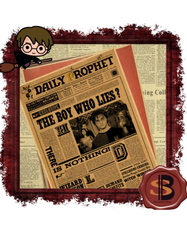 The Daily Prophet Harry Potter Poster