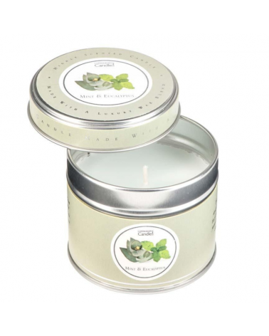 Ароматна свещ Highly Scented Candle Mint and Eucalyptus