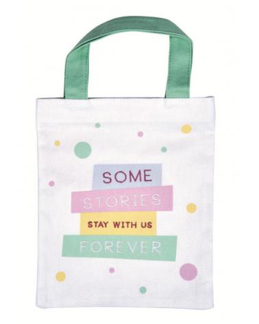 Текстилна чанта за книги - Истории