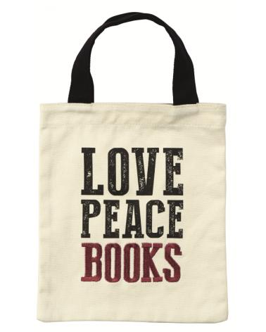 Текстилна чанта за книги - Любов и книги