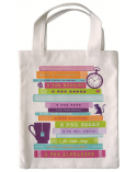 Fabric bag for books - Books