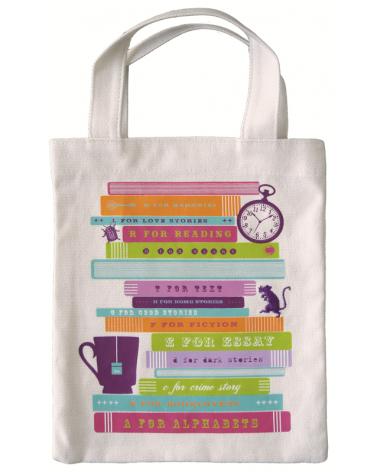 Fabric bag for books - Books