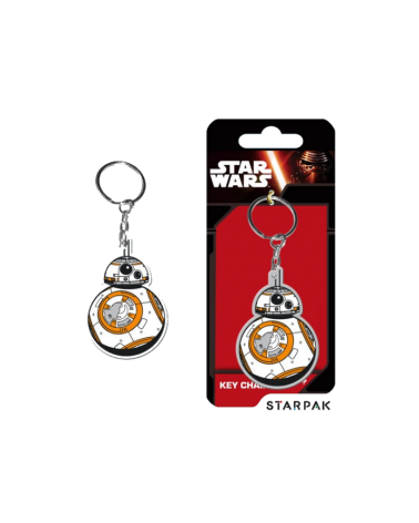 BB-8 Droid Star Wars Keyring chain