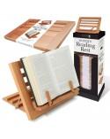 Дървена поставка за книга