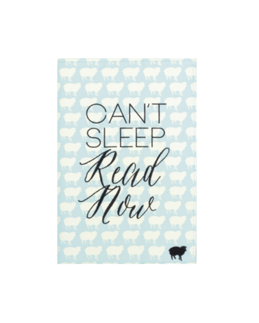 Fabric Book Case - Can't sleep Read now