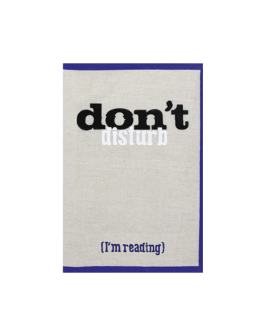 Текстилен калъф за книга - I'm reading
