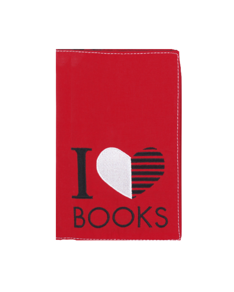 Fabric Book Case - I love books