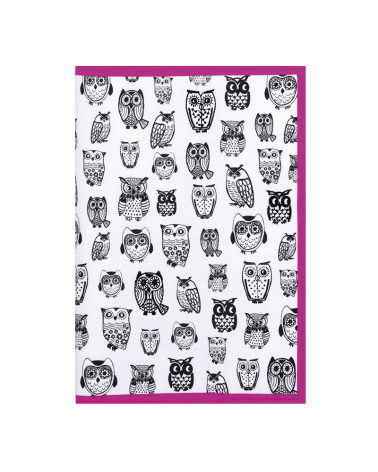 Fabric Book Case - Owl