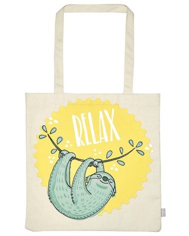 Fabric bag for books - Relax