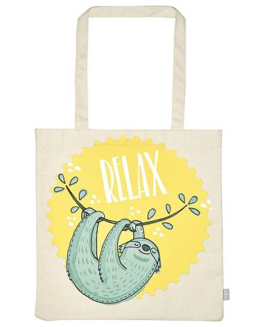 Текстилна чанта за книги - Relax