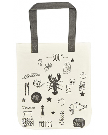Fabric bag for books - Food