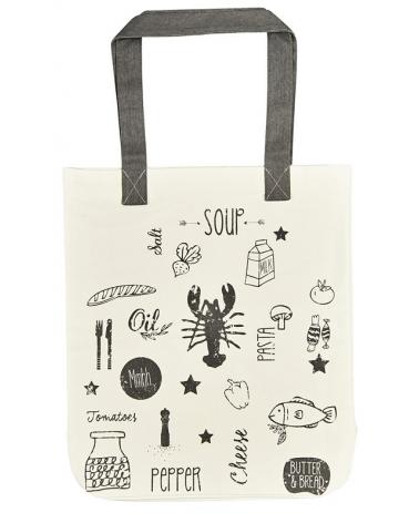 Текстилна чанта за книги - Продукти за готвене