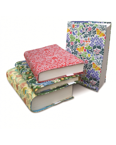 Printed Fabric V&A Book Jackets - Borage
