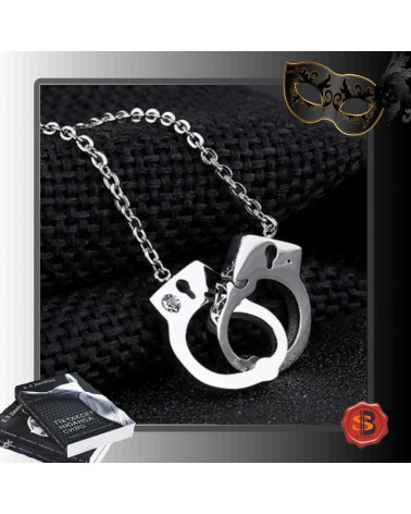 Necklace handcuffs crystal 50 shades of Grey
