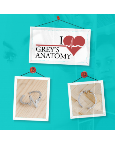 Keychain You are my person, Grey's Anatomy